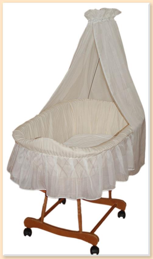himmel f r stubenwagen wiege creme betthimmel baldachin durchsichtig ebay. Black Bedroom Furniture Sets. Home Design Ideas