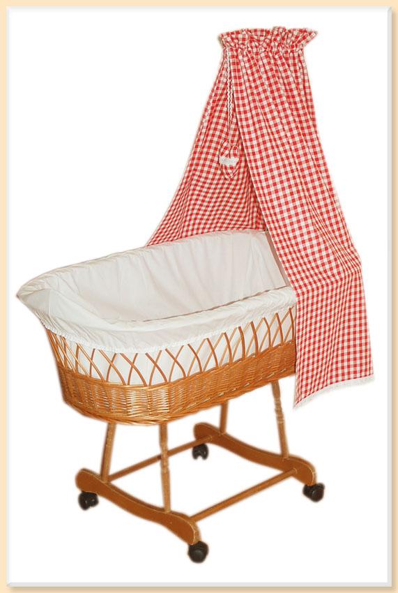 himmel mit spitze f r stubenwagen oder wiege baldachin rot. Black Bedroom Furniture Sets. Home Design Ideas